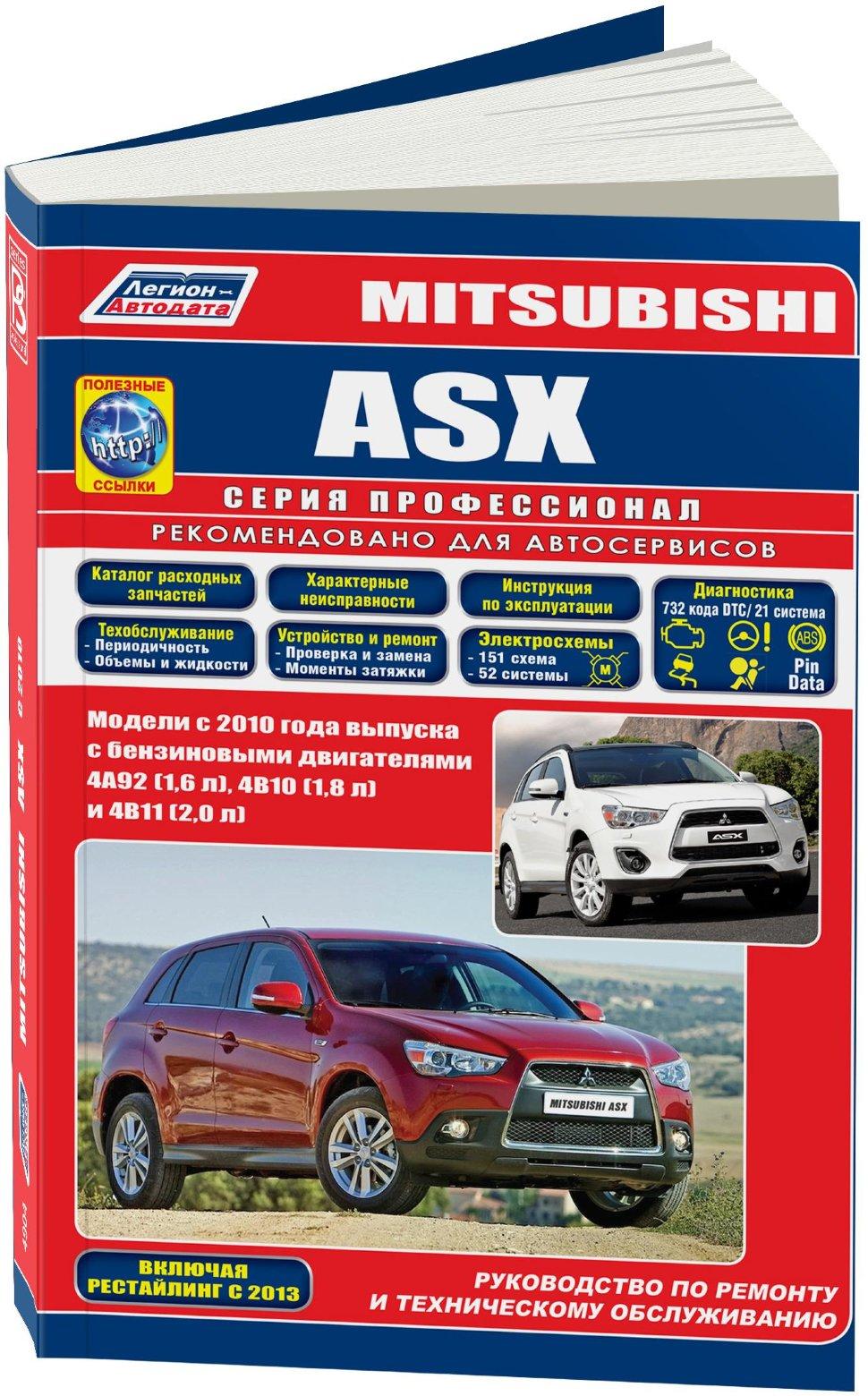 Mitsubishi asx ремонт своими руками