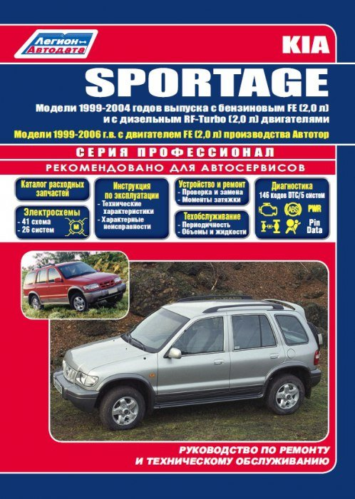 service manual 1995 kia sportage repair manual 1995. Black Bedroom Furniture Sets. Home Design Ideas
